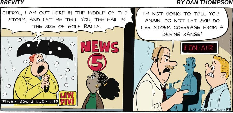 Brevity Comic Strip for November 03, 2019