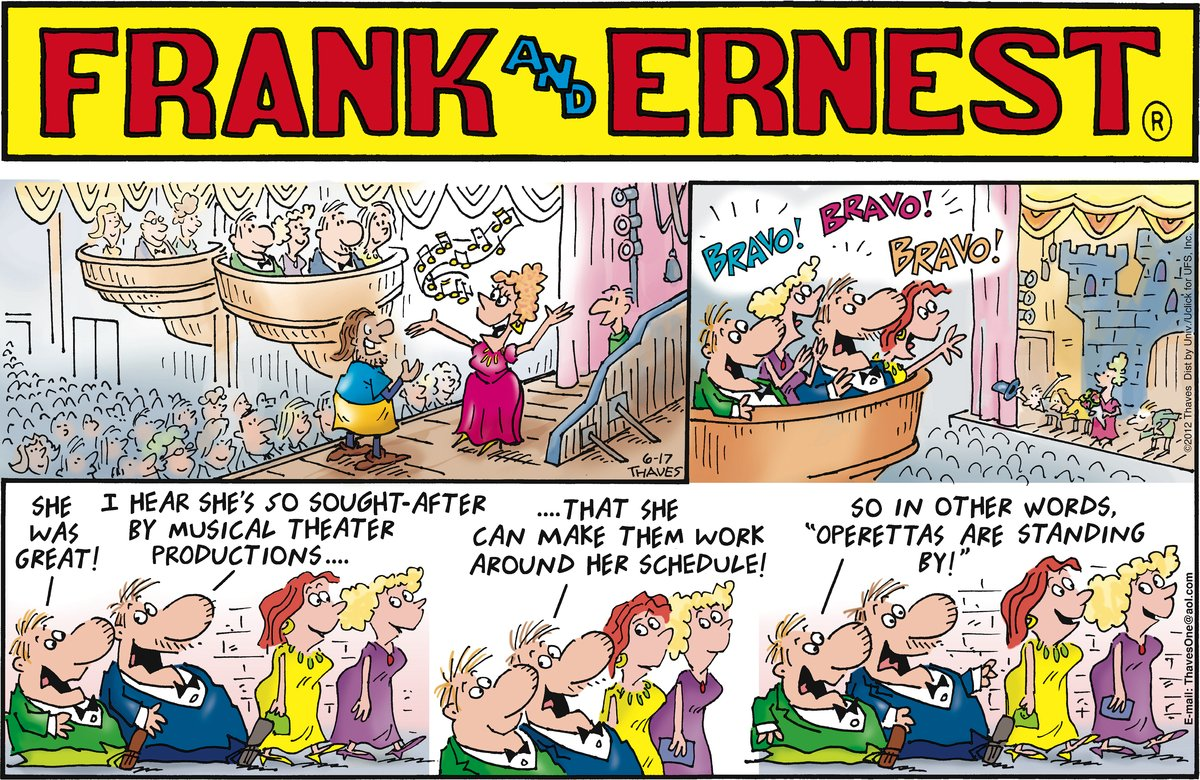 Frank and Ernest for Jun 17, 2012 Comic Strip