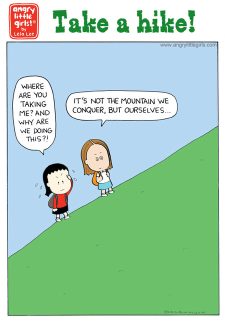 Angry Little Girls Comic Strip for May 31, 2021