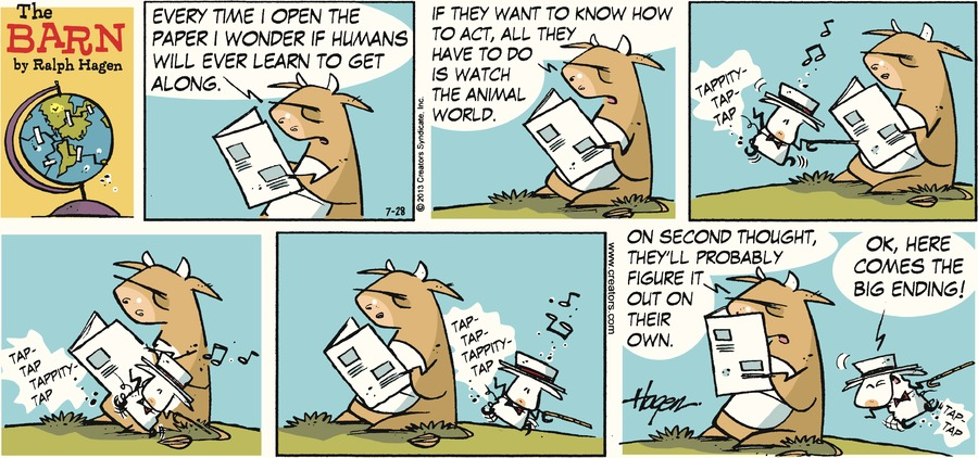 The Barn for Jul 28, 2013 Comic Strip