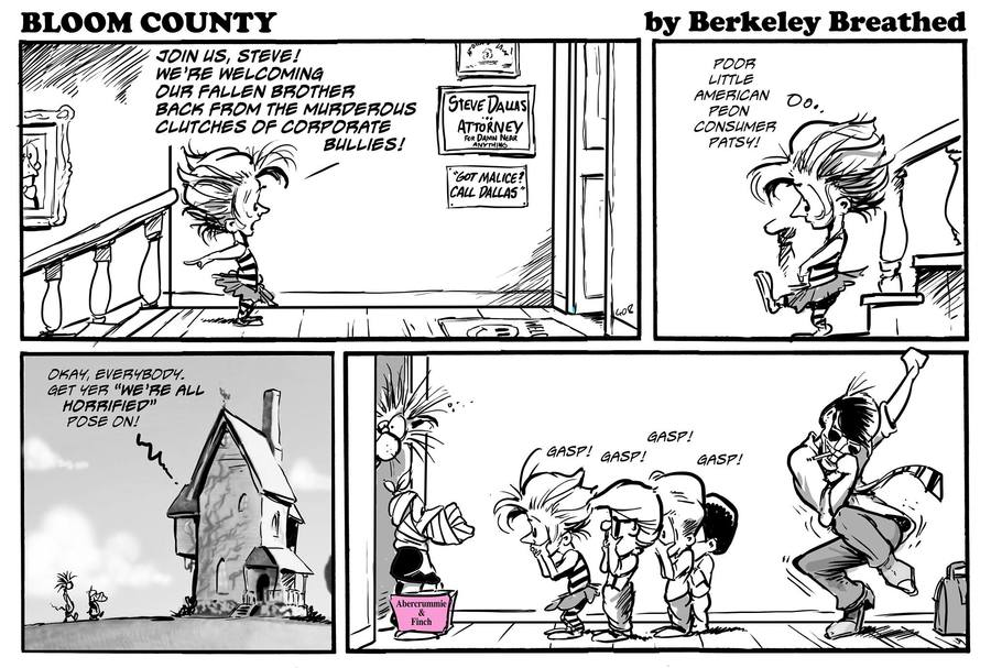 Bloom County 2018 for Apr 28, 2017 Comic Strip