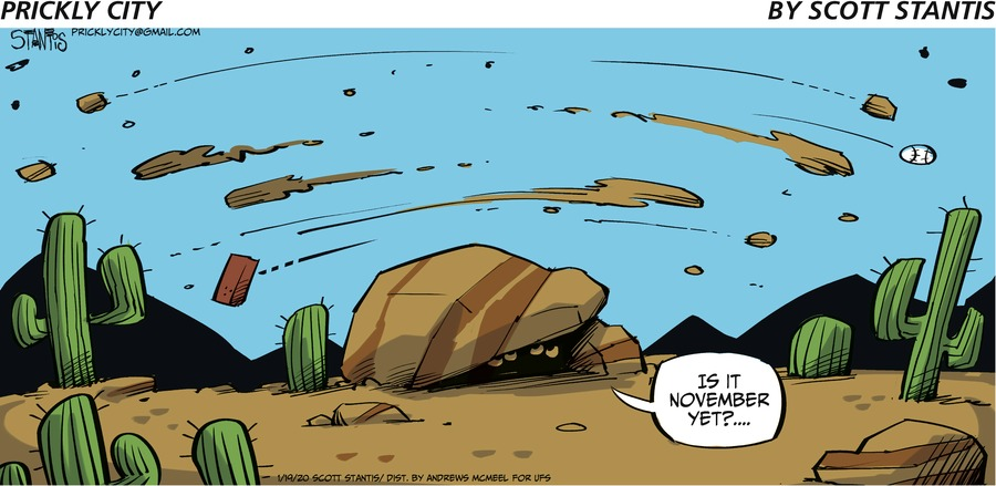 Prickly City Comic Strip for January 19, 2020