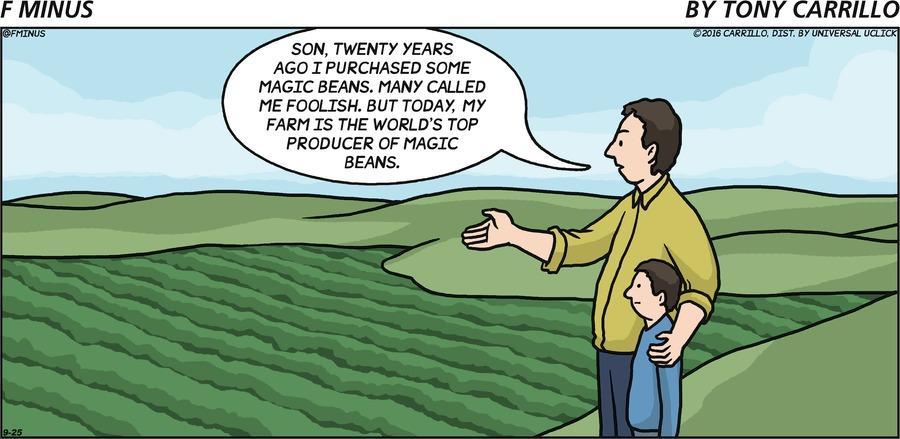 F Minus Comic Strip for September 25, 2016