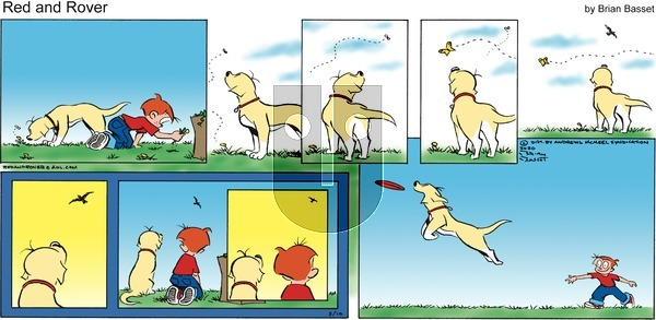 Red and Rover on Sunday May 10, 2020 Comic Strip