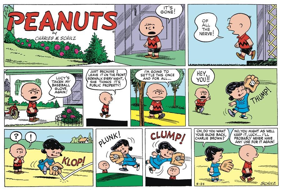 Peanuts Begins Comic Strip for November 27, 2016