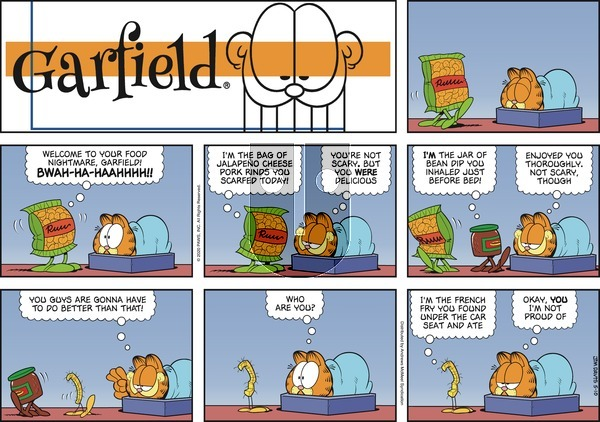 Garfield on Sunday May 10, 2020 Comic Strip