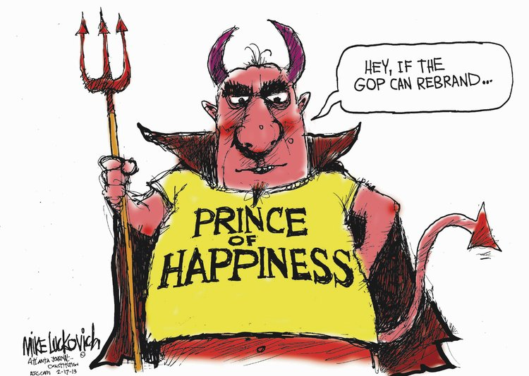 Mike Luckovich Comic Strip for February 17, 2013
