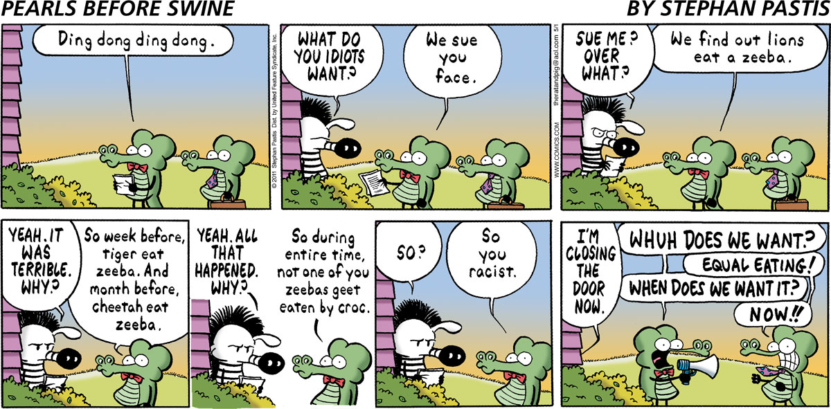 Pearls Before Swine Comic Strip for May 01, 2011