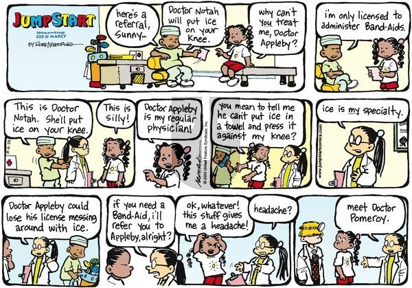 JumpStart on Sunday August 6, 2000 Comic Strip