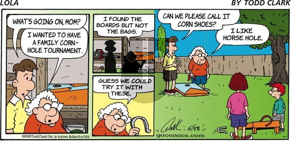 Lola on Sunday June 28, 2020 Comic Strip