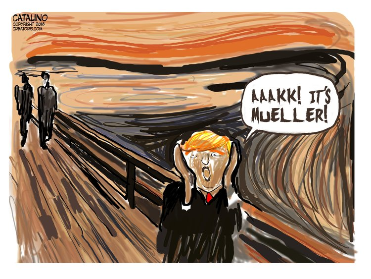 Ken Catalino for Mar 13, 2018 Comic Strip
