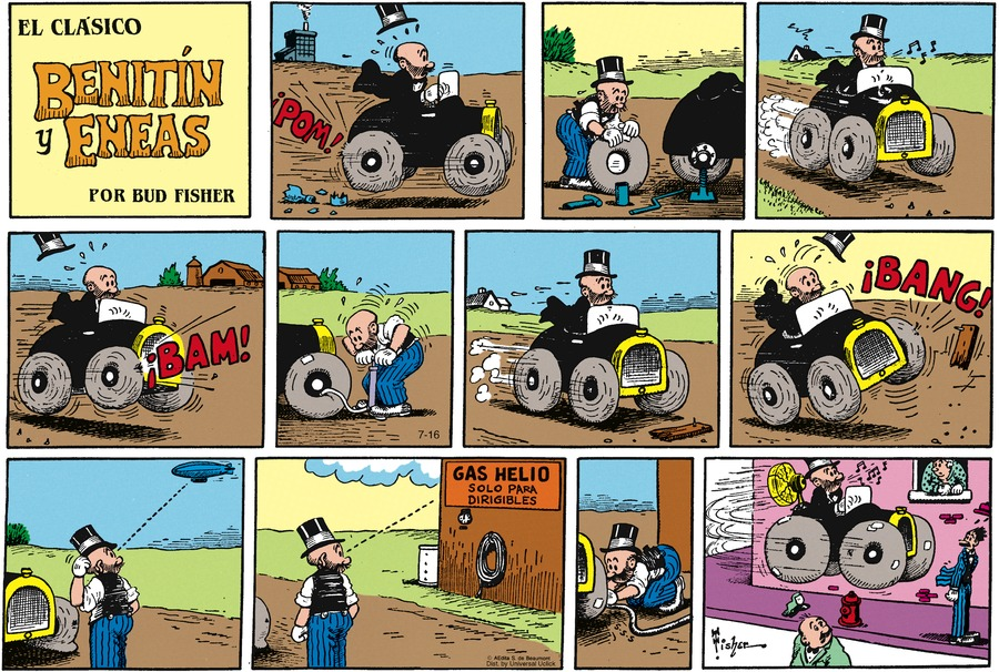 Benitin y Eneas for Jan 20, 2013 Comic Strip