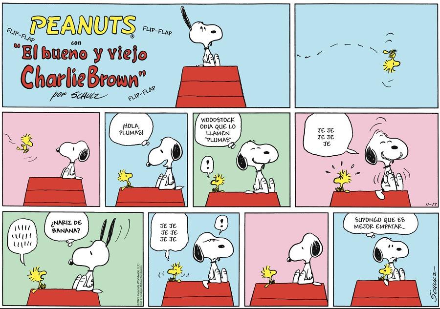 Snoopy en Español Comic Strip for November 17, 2019