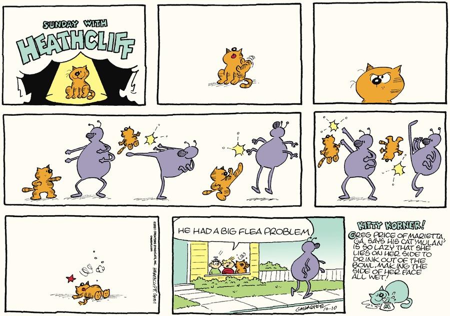 Heathcliff by George Gately on Sun, 10 Oct 2021
