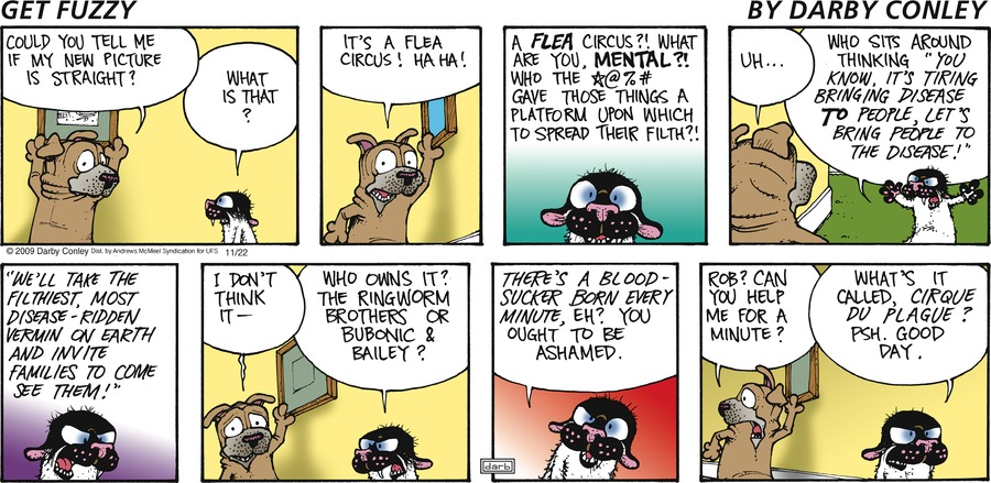 Get Fuzzy Comic Strip for November 22, 2020