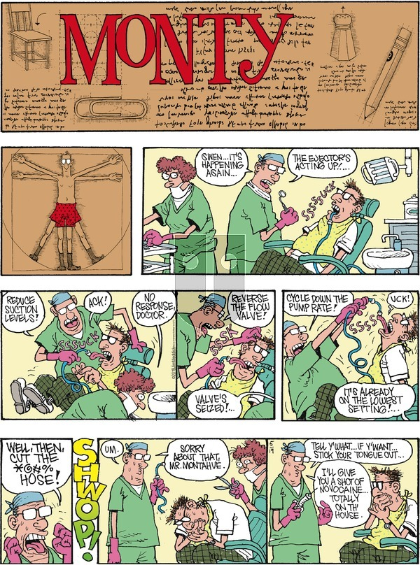 Monty on Sunday May 19, 2019 Comic Strip