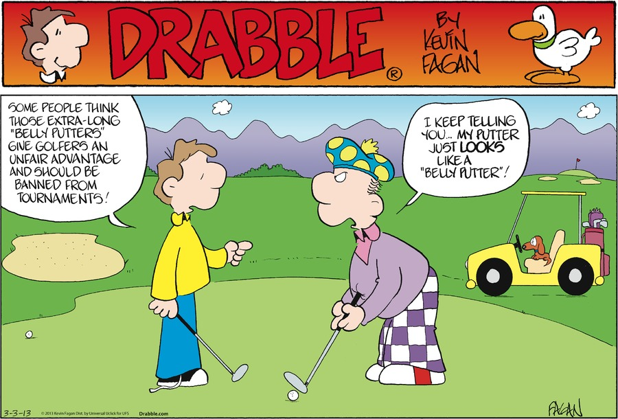 Drabble for Mar 3, 2013 Comic Strip
