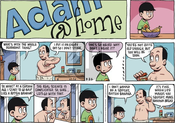 Adam@Home on Sunday July 22, 2018 Comic Strip