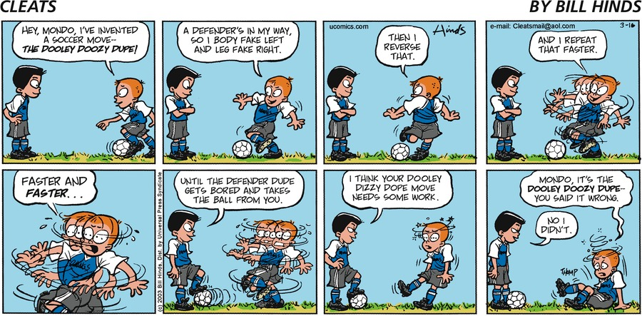 Cleats by Bill Hinds on Mon, 22 Feb 2021