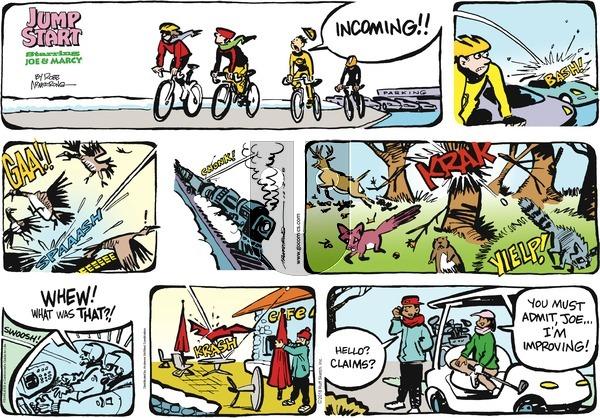 JumpStart on Sunday December 2, 2018 Comic Strip