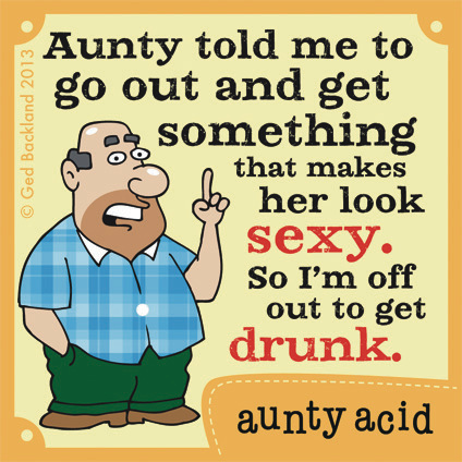 Aunty Acid for Jul 21, 2013 Comic Strip