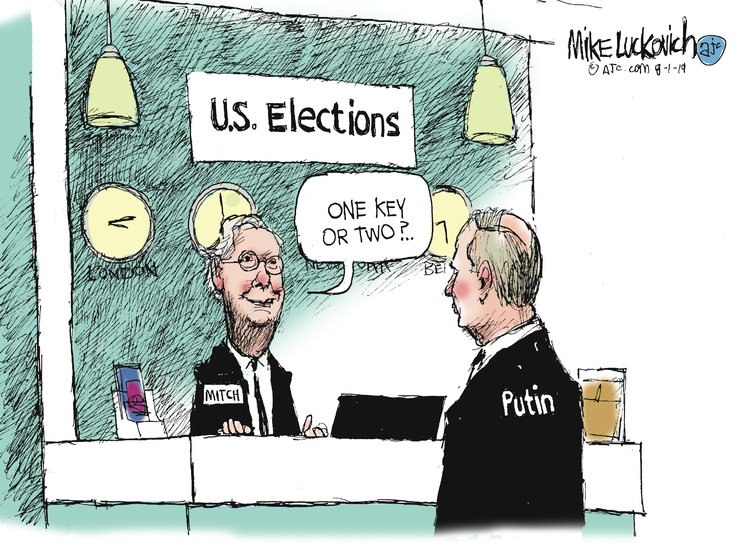 Mike Luckovich Comic Strip for August 01, 2019