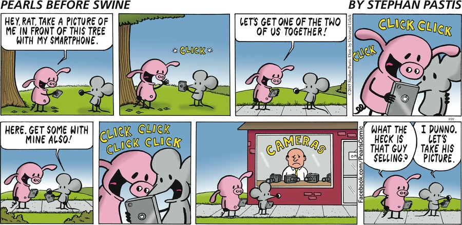 Pearls Before Swine Comic Strip for February 22, 2015