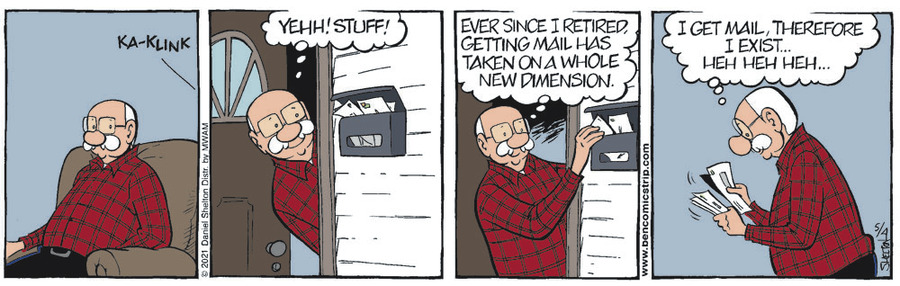 Ben Comic Strip for May 04, 2021