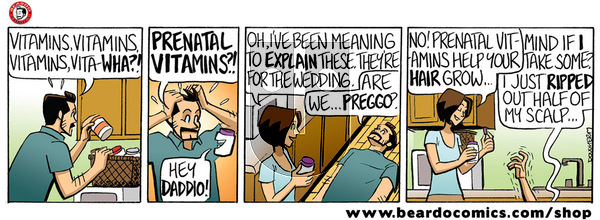 Beardo - Tuesday December 3, 2019 Comic Strip