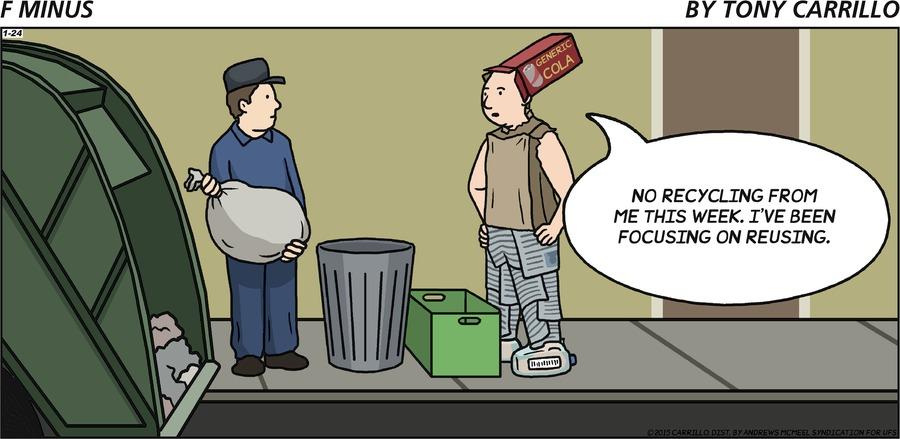 F Minus Comic Strip for January 24, 2021
