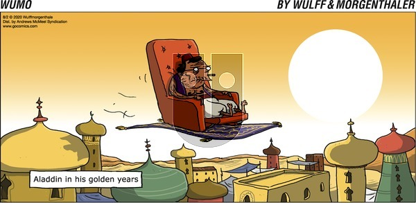 WuMo on Sunday August 2, 2020 Comic Strip