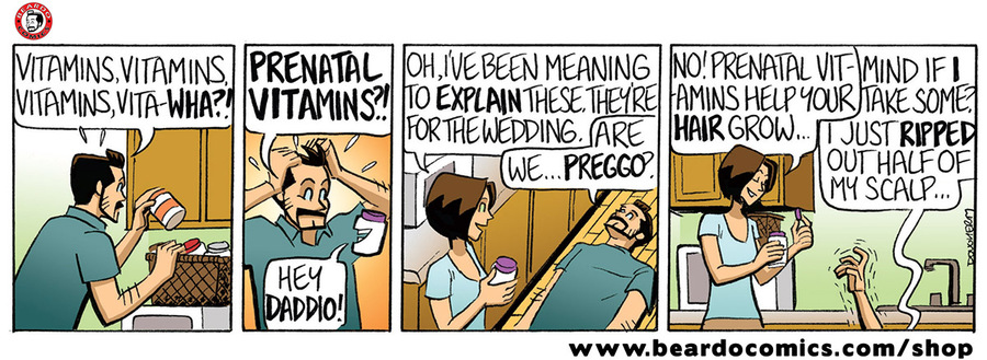 Beardo Comic Strip for December 03, 2019