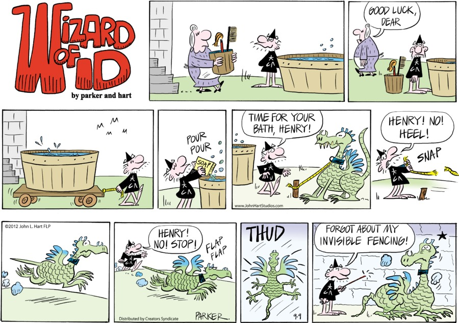 Wizard of Id for Sep 9, 2012 Comic Strip
