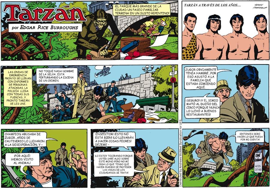 Tarzán en Español by Edgar Rice Burroughs on Sun, 25 Apr 2021
