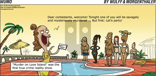 WuMo on Sunday March 17, 2019 Comic Strip