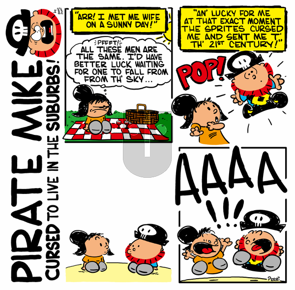 Pirate Mike on Wednesday April 15, 2020 Comic Strip
