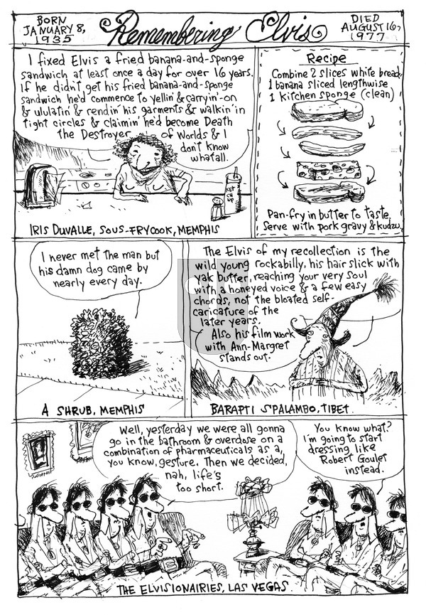 Richard's Poor Almanac on Sunday August 16, 2015 Comic Strip