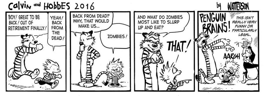 Bloom County 2019 Comic Strip for April 08, 2016