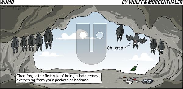 WuMo on Sunday April 9, 2017 Comic Strip