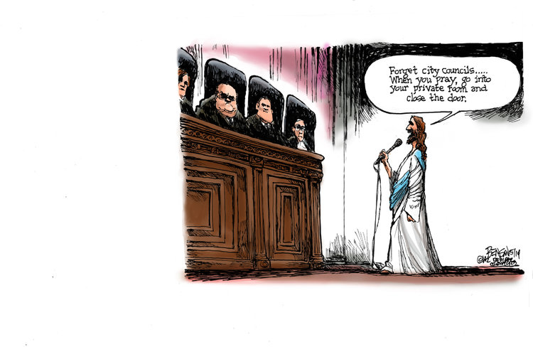 Steve Benson Comic Strip for May 08, 2014