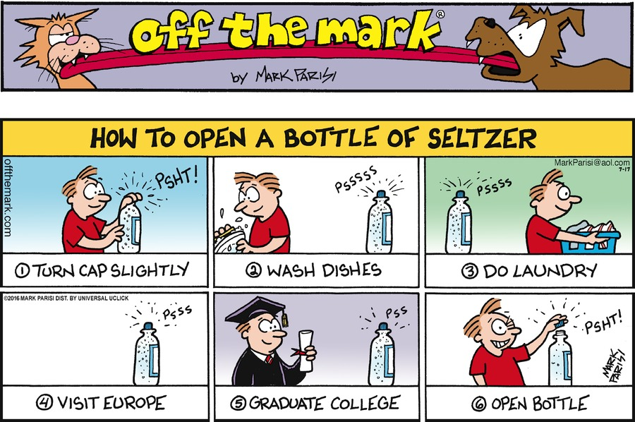 Off the Mark Comic Strip for July 17, 2016