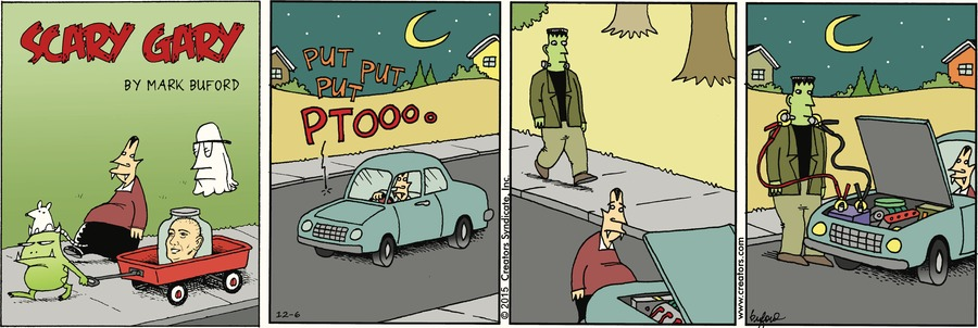 Scary Gary Comic Strip for December 06, 2020