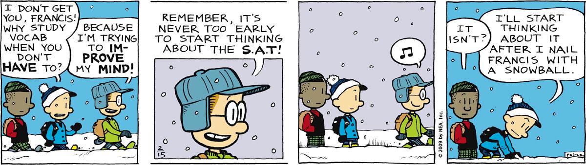 Big Nate Comic Strip for February 15, 2011