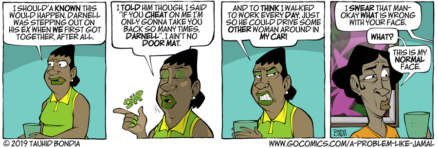 A Problem Like Jamal Comic Strip for March 11, 2019