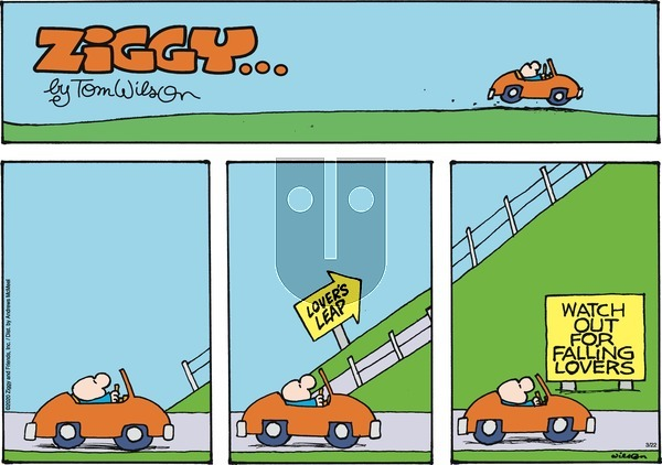 Ziggy on Sunday March 22, 2020 Comic Strip