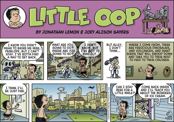 Alley Oop on Sunday March 22, 2020 Comic Strip