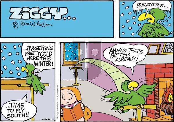 Ziggy - Sunday January 5, 2020 Comic Strip