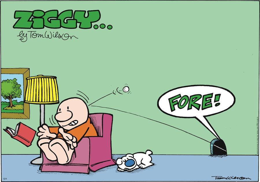 Ziggy for Dec 1, 2013 Comic Strip