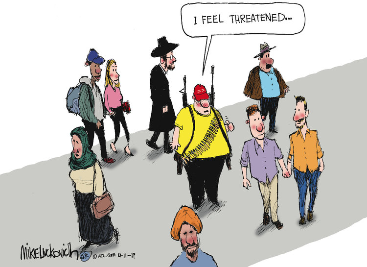 Mike Luckovich Comic Strip for December 01, 2019