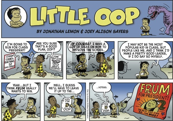 Alley Oop on Sunday September 8, 2019 Comic Strip